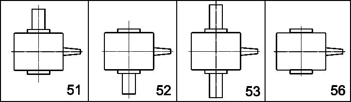 Редуктор РЧП-120, редукторы типа РЧН: схема сборки