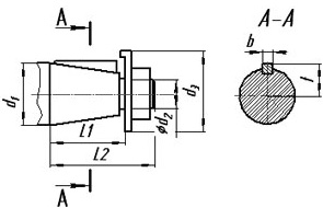 Редуктор РЧУ-100, редуктор РЧУ: размеры входных и выходных валов